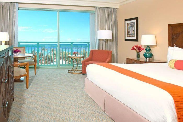 chambre terrasse island view