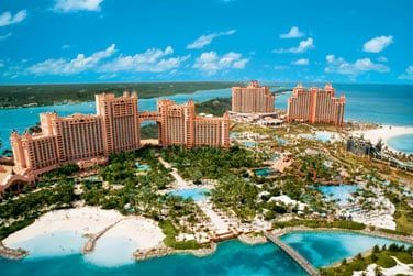 Voici l'Atlantis Paradise Island Resort