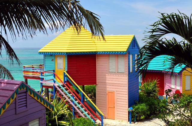 Les bungalows front de mer surélevés