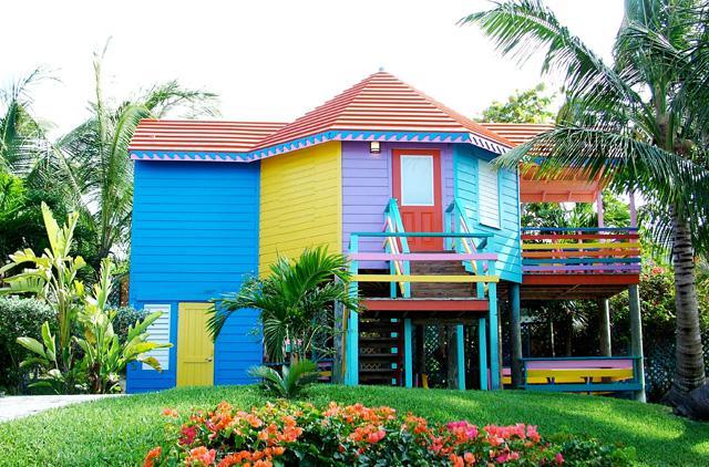 Le bungalow vue mer surélevé