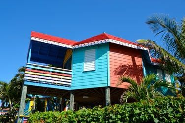 Le bungalow front de mer surélevé
