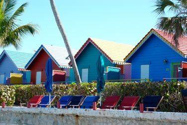 Les bungalows front de mer
