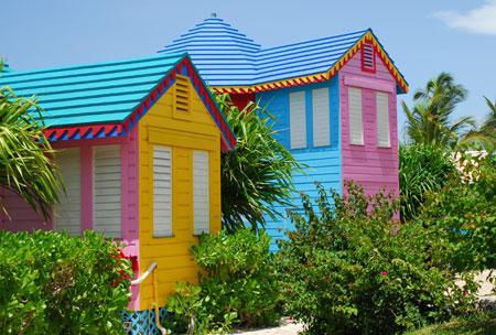 Séjournez dans de confortables cottages colorés