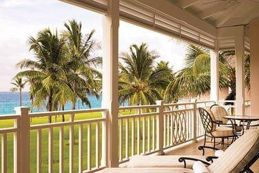 Le balcon d'une Suite vue Océan