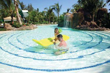 La piscine du mini-club pour les petits !