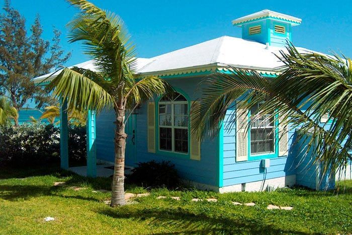 cottage 2 chambres front de mer (musha cay)