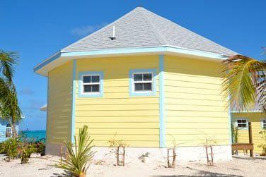 Chaque bungalow porte le nom d'une île des Bahamas
