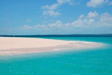 Vous pourrez découvrir de sublimes bancs de sable rien que pour vous