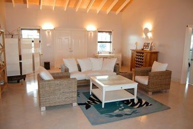 Le salon de la villa 4 chambres
