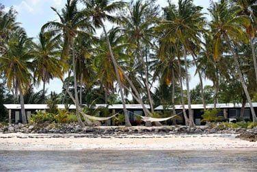 Le lodge se compose de 20 cottages front de mer nichés dans la végétation
