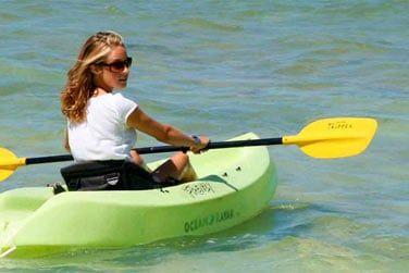 Le site est propice à de nombreuses activités nautiques