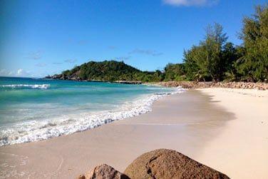 La plage est sublime...