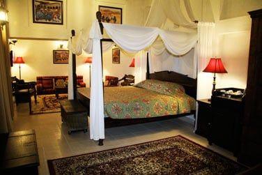 La Suite Barjeel et son salon traditionnel