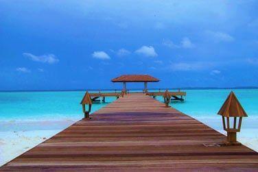 Partez à la découverte de l'île d'Hanimadhoo, à 45 min au nord de Malé