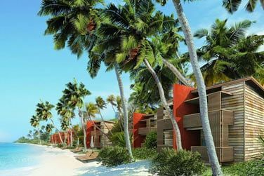 Sur cette île à la nature généreuse se niche le Barefoot Eco Hotel