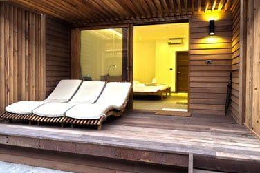 Sa petite terrasse privative