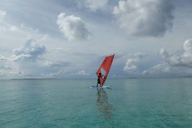 Canoe, planches à voile, vous aurez le choix