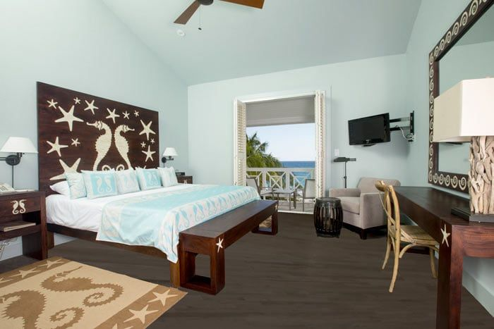 chambre standard vue ocean avec balcon