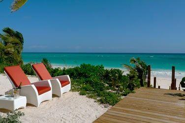 Un vrai décor de carte postale sous le soleil des Bahamas