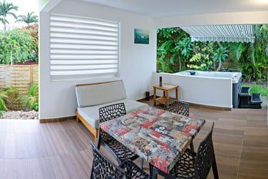 Votre terrasse privative spacieuse