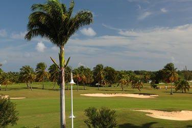 St François est une station touristique animée avec un golf et des commerces