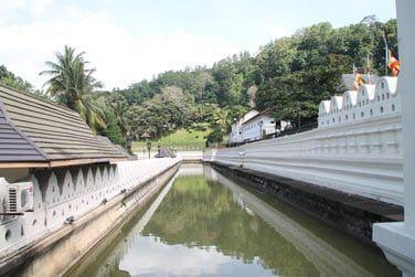 Vous visiterez le célèbre Temple de la Dent à Kandy