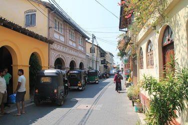 Mais également dans ses petites rues colorées et très agréables
