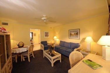 Les Villas possèdent un spacieux salon