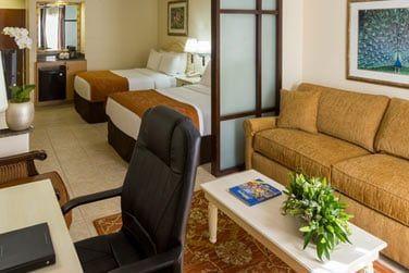 Les chambres de l'hôtel sont confortables et bien équipées