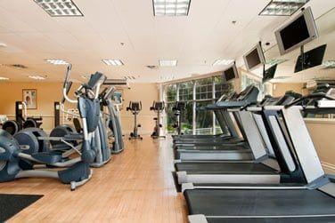 La salle de fitness à votre disposition