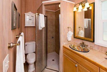 Salle de bain Cottage vue océan