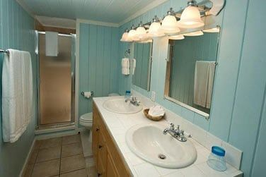 Salle de bain en chambre Horizon