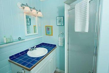 Salle de bain en chambre Lodge