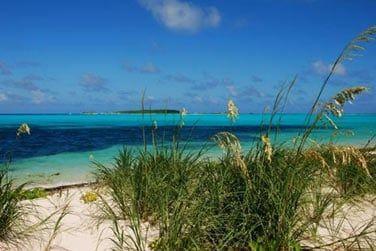 Pette île de 25km sur 8km à 1h de vol de Nassau