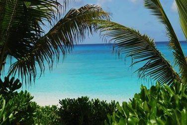 Bienvenue sur l'île de San Salvador