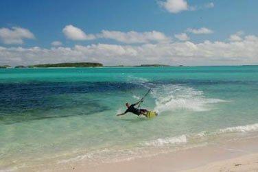 Un superbe spot de kitesurf, peu fréquenté, vous attend