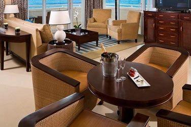 L'hôtel Melia Nassau Beach propose également des Suites 1 ou 2 chambres