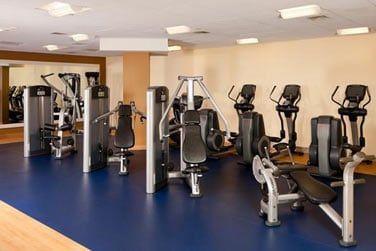 Un centre de fitness pour vous entraîner et de nombreuses autres activités à découvrir sur place!