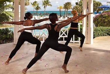 Des cours de yoga pour vous relaxer..