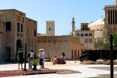 Le vieux Dubaï avec le quartier de Bastakiya