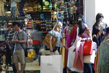 Vous pourrez faire du shopping dans les différents souks