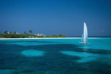 Découvrez la beauté du lagon lors d'une balade en catamaran