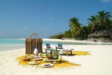 Pique-nique sur la plage...
