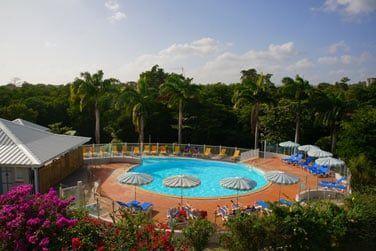 La seconde piscine au coeur de la végétation