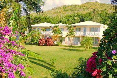 Vue générale de la Résidence Caribia, une des 3 parties du resort