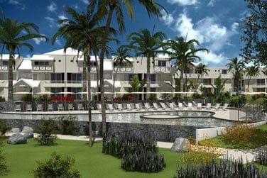 Un resort composé de 3 parties rénové en 2015