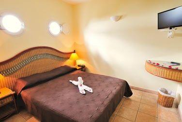 Les chambres simples et confortables du Karibea Resort
