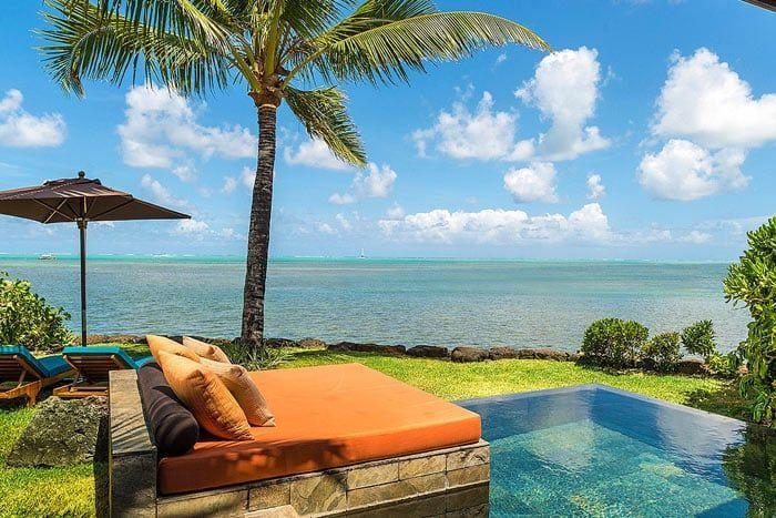 villa vue océan avec piscine