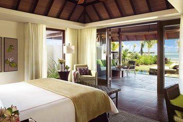 Chambre des villas Océan et Plage, offrant un panorama exceptionnel sur le front de mer