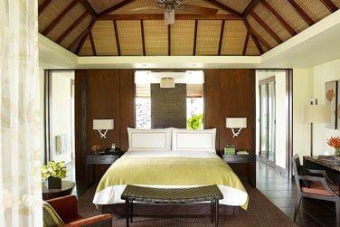 Chambre des villas vue Mangrove, Lagon et Jardin